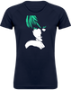 T-SHIRT DE SPORT FEMME DEATH NOTE LIGHT YAGAMI (VERT) - mangas-shop.com
