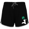 SHORT DE SPORT FEMME DEATH NOTE LIGHT YAGAMI (VERT) - mangas-shop.com