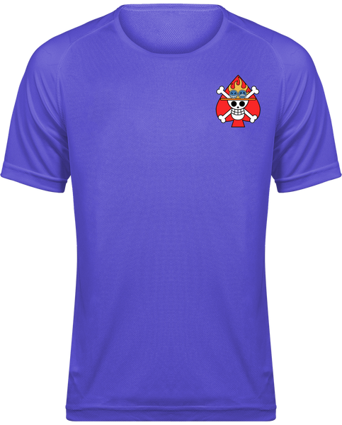 T-SHIRT DE SPORT ONE PIECE SYMBOLE DE ACE - mangas-shop.com