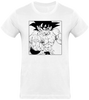 T-SHIRT DRAGON BALL Z SONGOKU COMBAT - mangas-shop.com