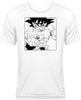 T-SHIRT DE SPORT DRAGON BALL Z SONGOKU COMBAT - mangas-shop.com
