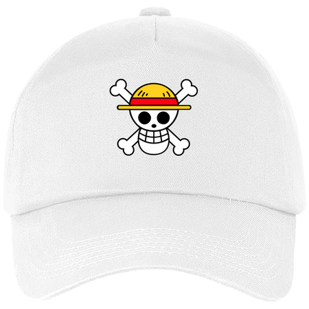 CASQUETTE ONE PIECE SYMBOLE DE LUFFY