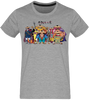 T-SHIRT ONE PIECE 9 FOURREAUX ROUGES