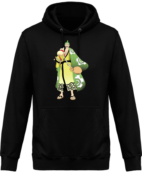 SWEAT À CAPUCHE ONE PIECE RORONOA ZORO