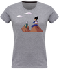 T-SHIRT FEMME DRAGON BALL Z VÉGÉTA & TRUNKS