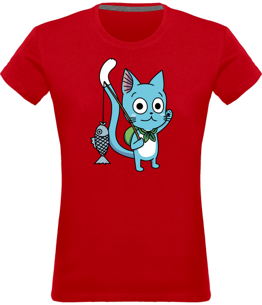 T-SHIRT FEMME FAIRY TAIL HAPPY