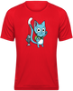 T-SHIRT DE SPORT FAIRY TAIL HAPPY