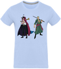 T-SHIRT ONE PIECE ZORO & MIHAWK