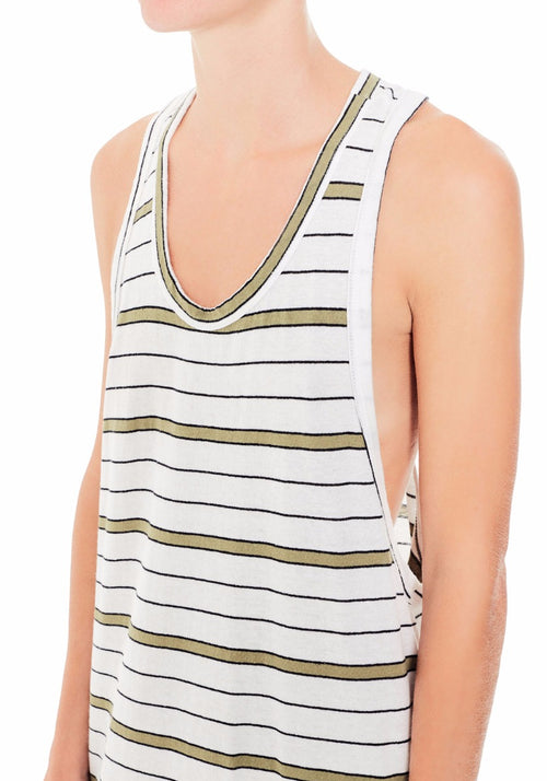 Slim T-Back Tank Dress