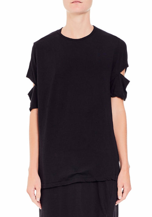 Cut Out Jersey T-Shirt