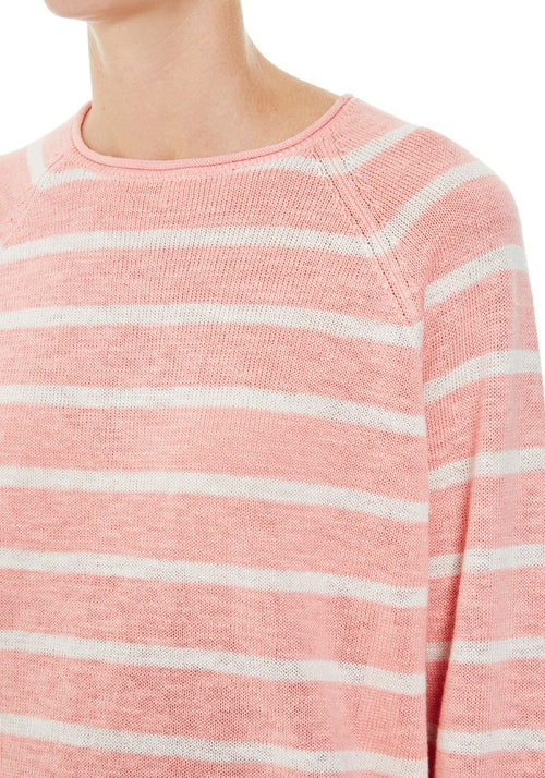 Stripe Cotton Linen Knit