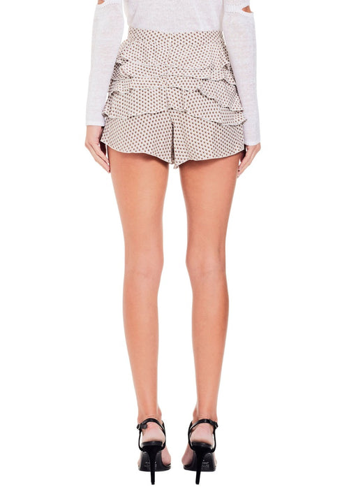 Emelie Ruffled Mini Short