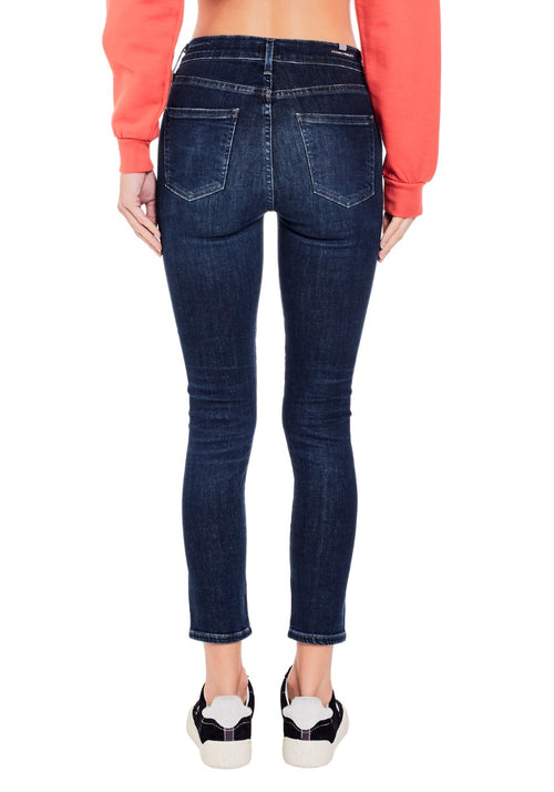 Rocket Cropped High Rise Skinny Jean