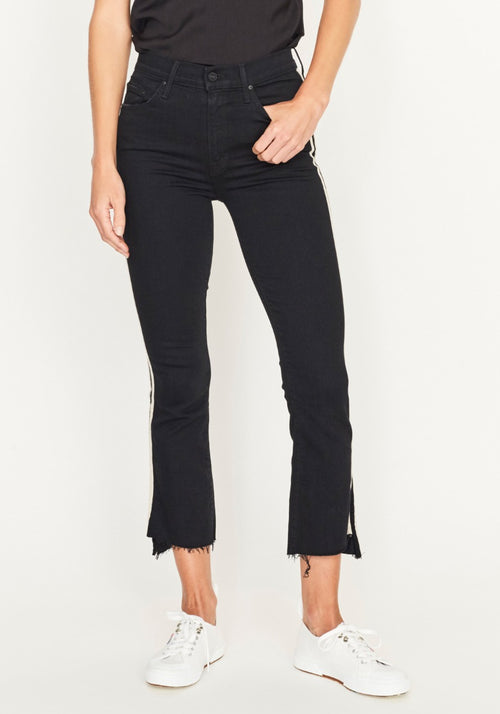Insider Crop Step Fray Jean