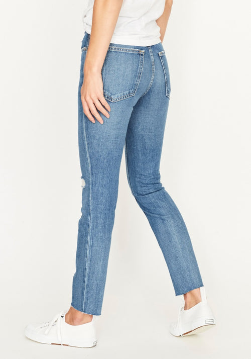 High Rise Ankle Skinny Jean