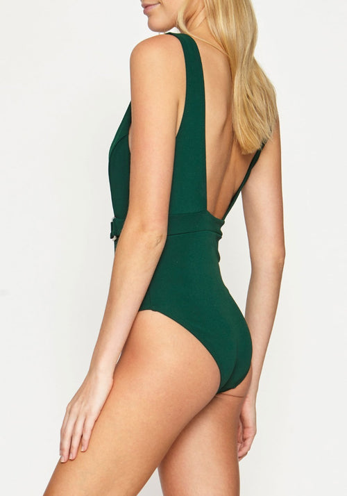 Jungalow Belted One Piece