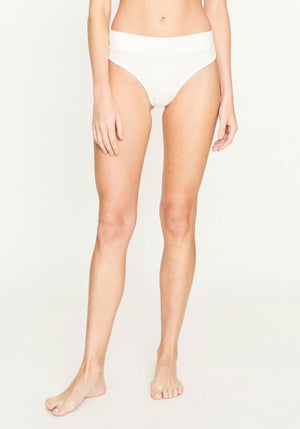 Robbie Thong Brief Ivory
