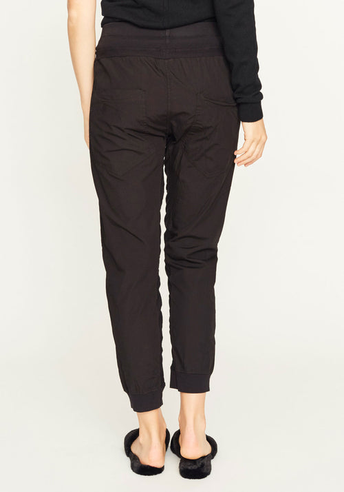 Utility Cotton Jersey Pants