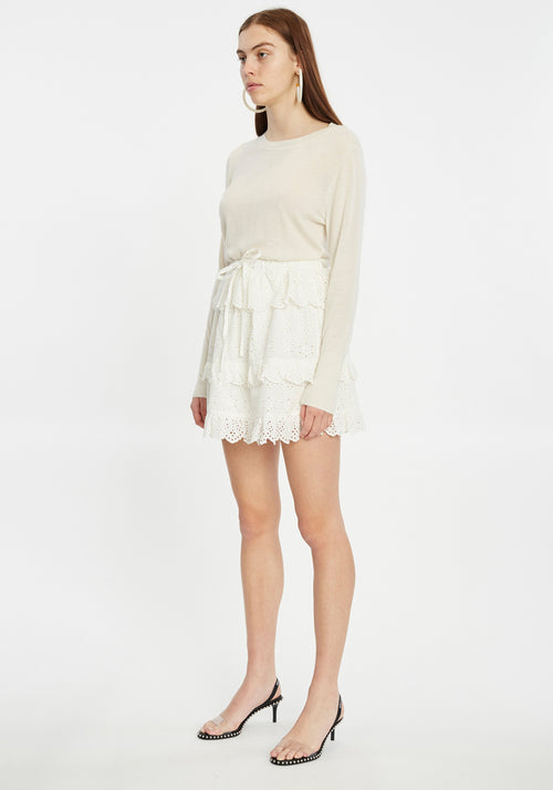 Amelia Ruffle Mini Skirt