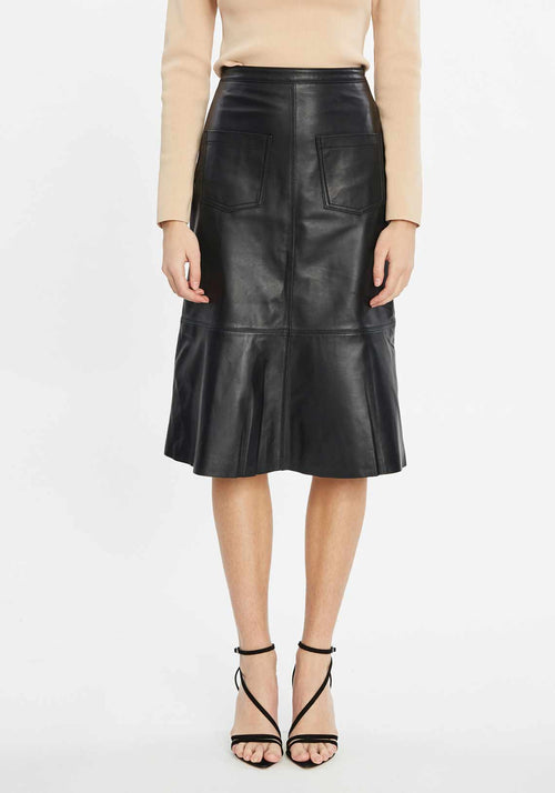 Liv Leather Skirt
