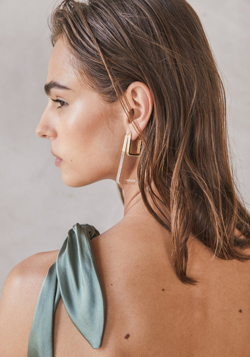 Melina Earrings Clear