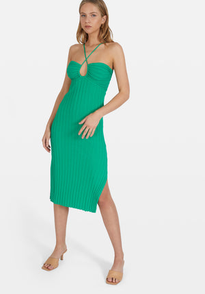 Sunny Midi Dress Green