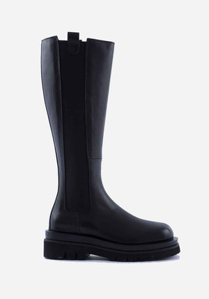 Kara Long Boot Black