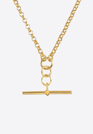 Fob Belcher Necklace Gold