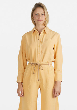 Mahin Shirt Apricot Cream