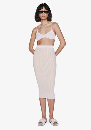 Julian Skirt Ivory/Camel