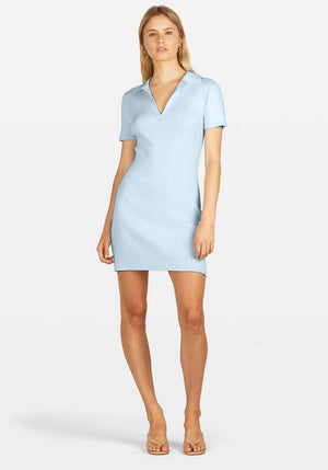 Mini Lipa Dress Ice Blue