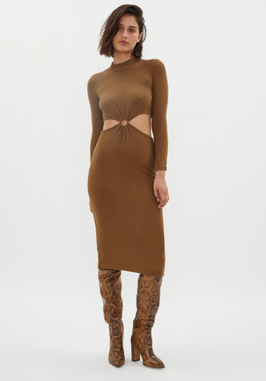 Banx Dress Camel