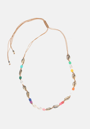 Fiesta Shell Necklace