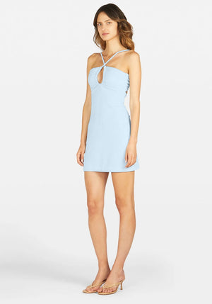 Sunny Terry Dress Ice Blue