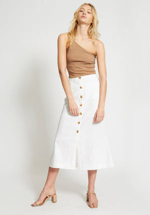 Galloway Flared Midi Skirt