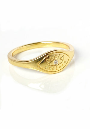 Bowie Ring In Gold