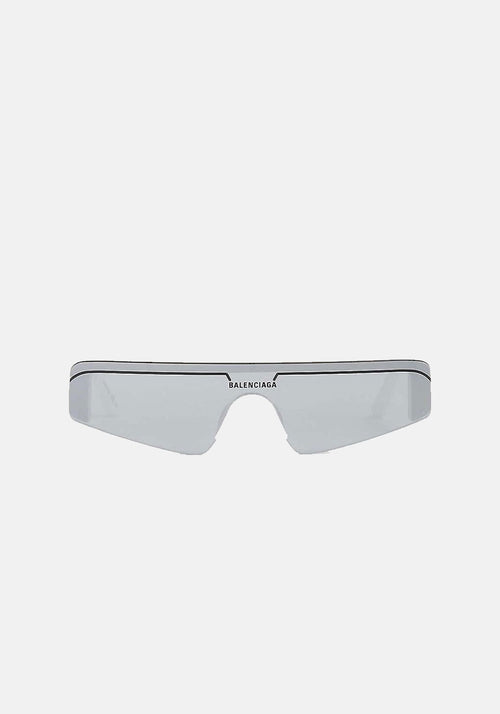 Ski Rectangle Sunglasses White