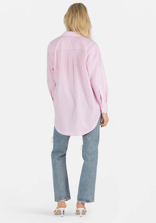Solly Shirt Pink Stripe