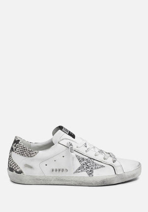 Superstar Sneakers White/Silver/Snake