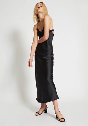 Boulevard Slip Dress Black