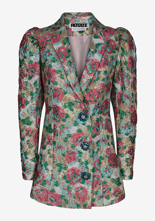 Carol Jaquard Blazer Dress Morning Glory