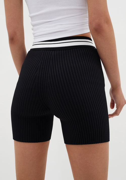 Knit Shorts Black
