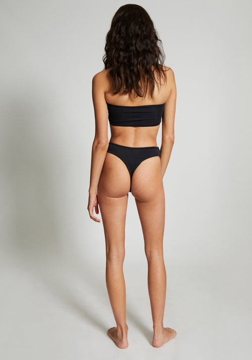 Classic  High Cut Bottoms Black
