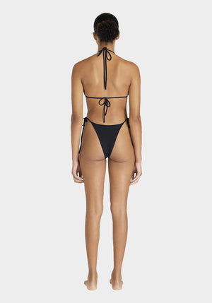 Tyra Tie Side Bottoms Black