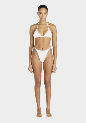 Tyra Tie Side Bottoms White