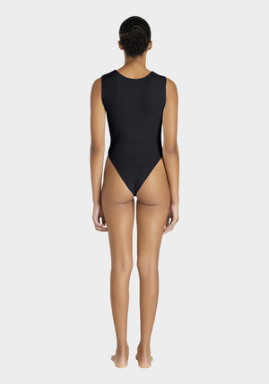 Vest One-Piece Black