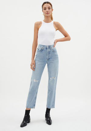 90's Jean Mid Rise Loose Fit Captured