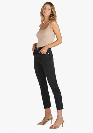 Riley Crop Jean In Panoramic