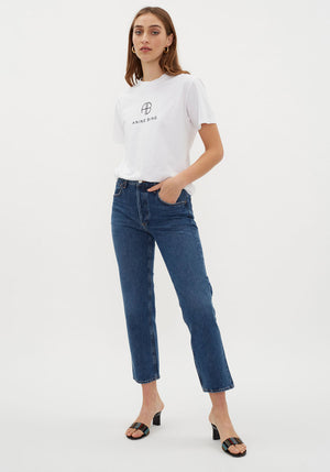Ripley Mid Rise Jean Air Blue