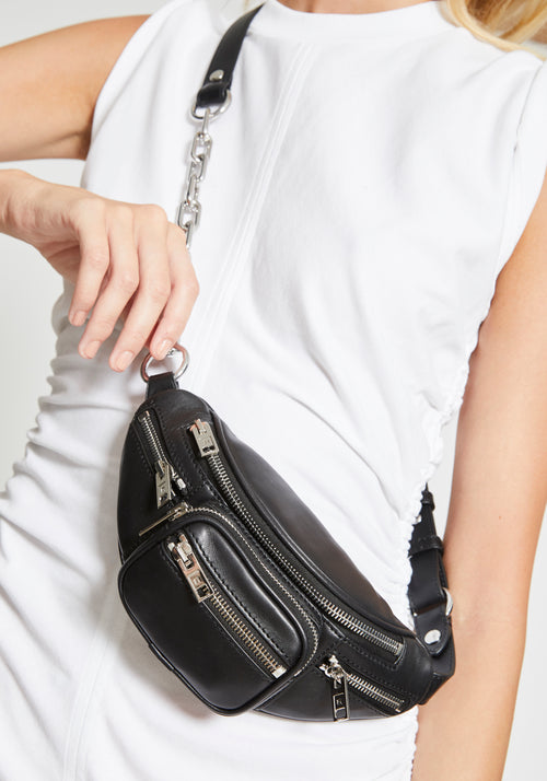 Attica Mini Fanny Pack Black